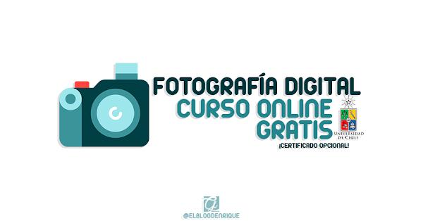 Curso online gratis de Fotografía Digital por la Universidad de Chile con Certificado Opcional