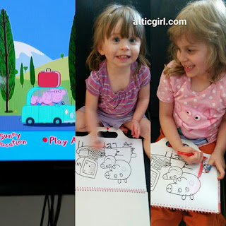 Peppa Pig coloring books