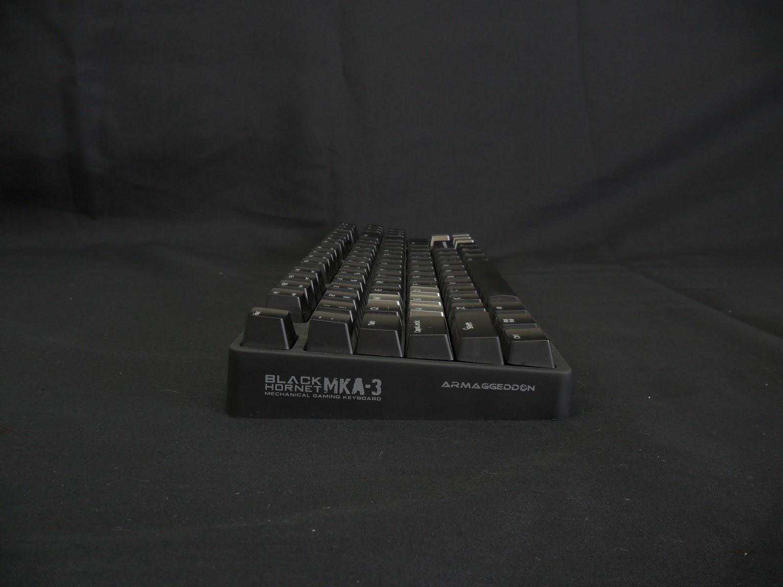 Unboxing & Review: Armaggeddon Black Hornet MKA-3 Mechanical Gaming Keyboard 8