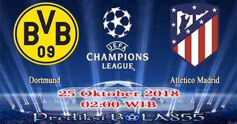 Prediksi Bola855 Dortmund vs Atletico Madrid 25 Oktober 2018