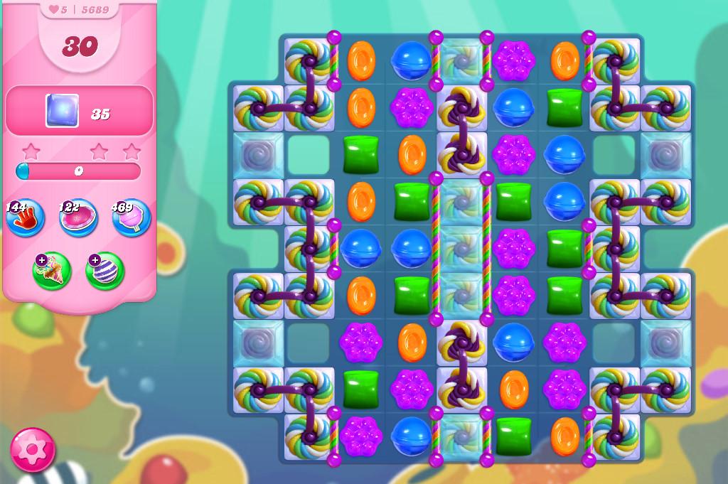 Candy Crush Saga level 5689