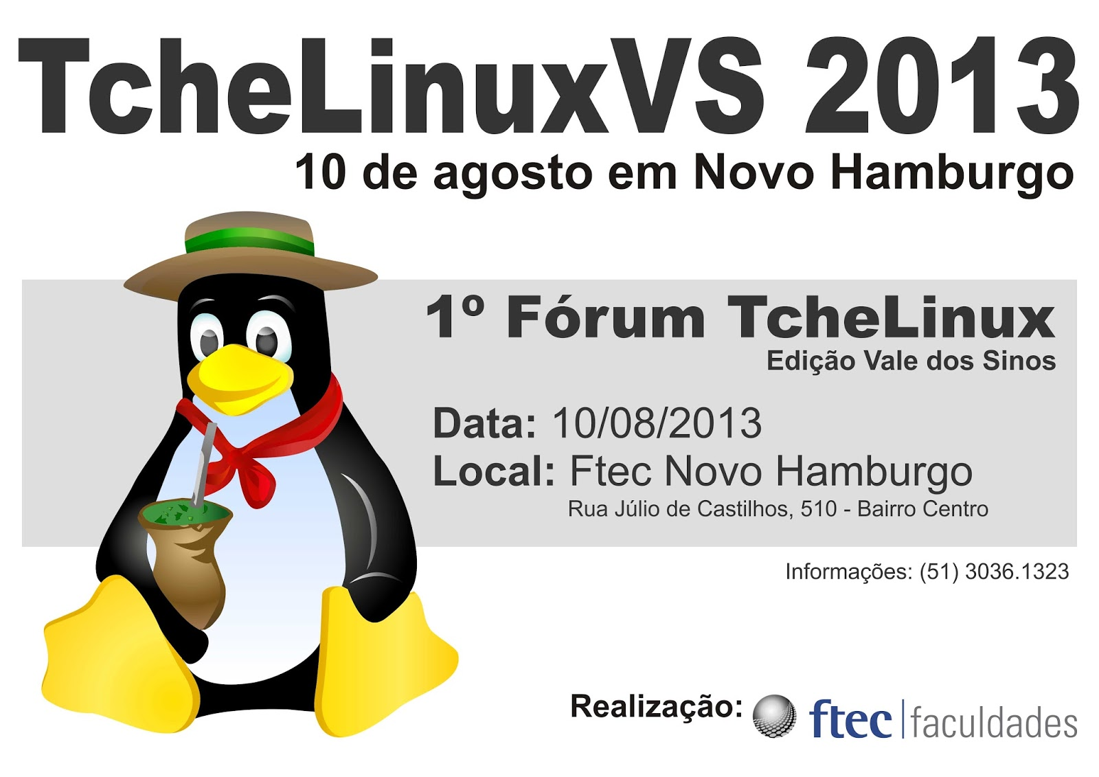 forum tche linux vs novo hamburgo