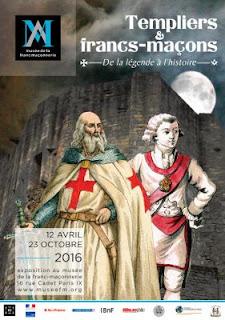 Exposition Templiers et Francs-Maçons au musée de la F.M
