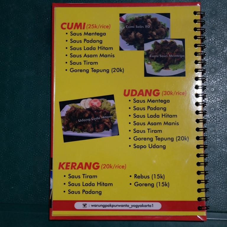Seafood Mumer Ala Pak Purwanto
