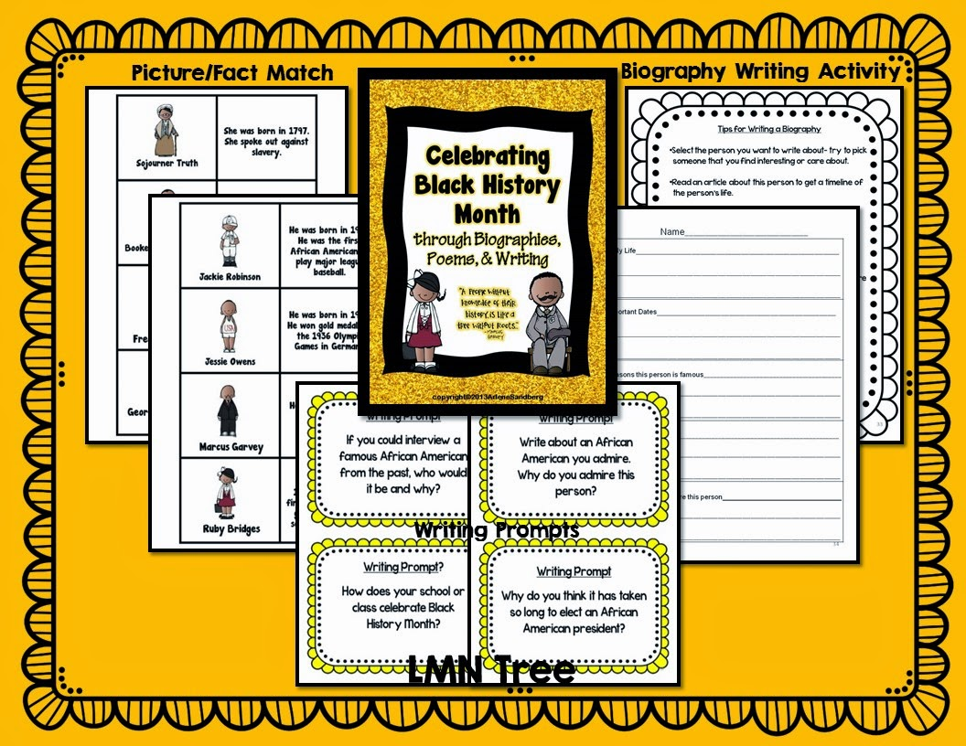 Lmn Tree Celebrating Black History Month With Free Resources Poems Biographies And Free