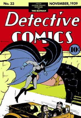 Detective Comics (1937) #33 Cover