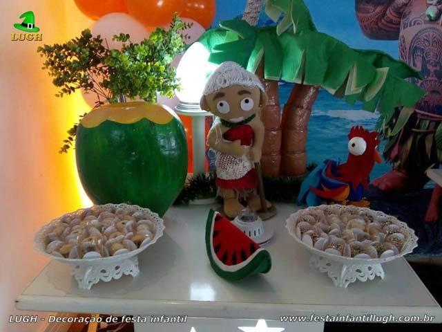 Decoração festa Moana - Aniversário infantil