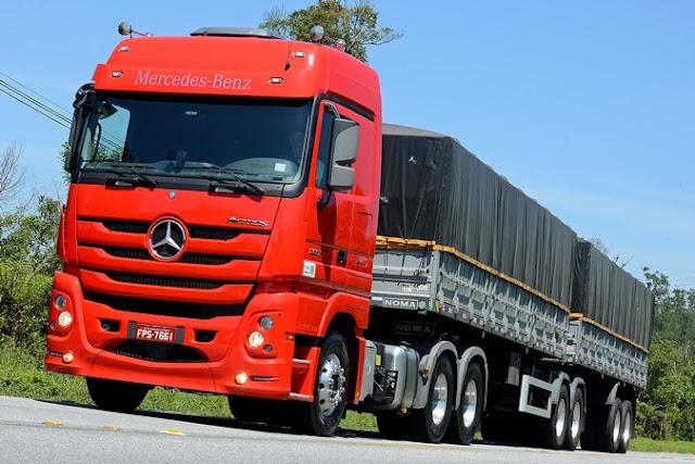 Vendas de extrapesados Mercedes-Benz Actros 2651