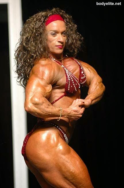 muscle female Colette guimond