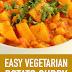 Easy Vegetarian Potato Curry