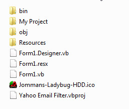 Yahoo Email Filter