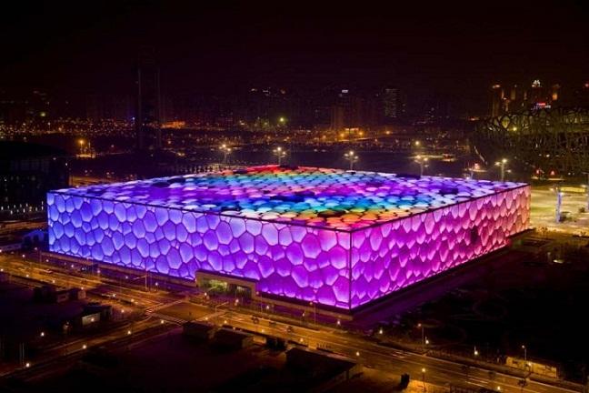 Mengenal Beijing National Aquatics Center di Cina