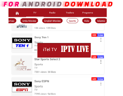 Download Android Free iTelIPTV1.2 LiveTV Apk -Watch Free Live Cable Tv Channel-Android Update LiveTV Apk  Android APK Premium Cable Tv,Sports Channel,Movies Channel On Android
