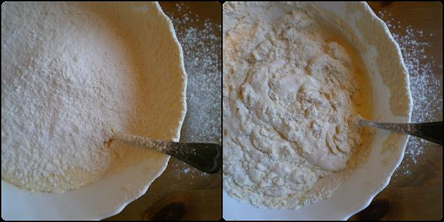 Tarta de manzanas, receta de Doña Cristina: Elaboración de la masa