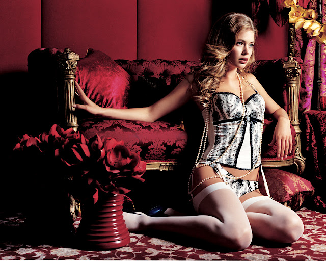 Doutzen Kroes EBLIN Lingerie photo shoot