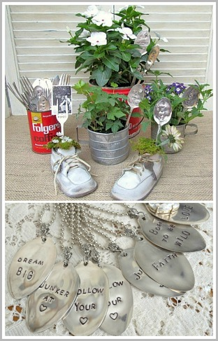 Silverware Stamping Tutorial