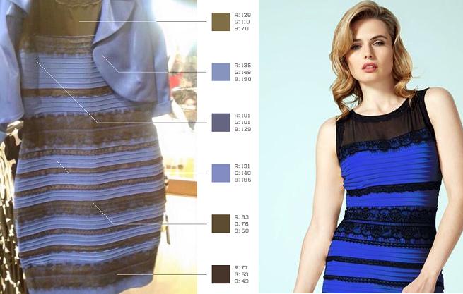 El Vestido Es Azul Pero No Está Mal Verlo Blanco Y Dorado