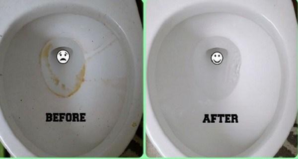 وصفة من مكونين طبيعيين تجعل المرحاض في بيتك يشع بالنظافة وكأنه جديد (وبدون فرك أو حف)