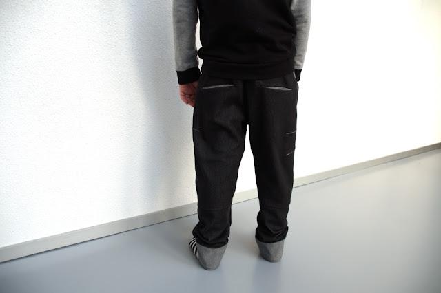 Bookfold Trousers (Madeit Patterns) sewn by huisje boompje boefjes