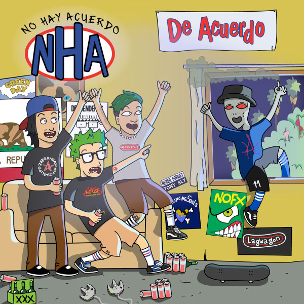"NHA stream new song ""Personas"""