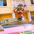 Cossy Ojiakor flashes her b0obs as she poses in her pink Porsche