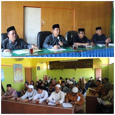 Kemenag Kota Tanjungbalai Adakan Rapat Koordinasi Penyuluh Agama Islam