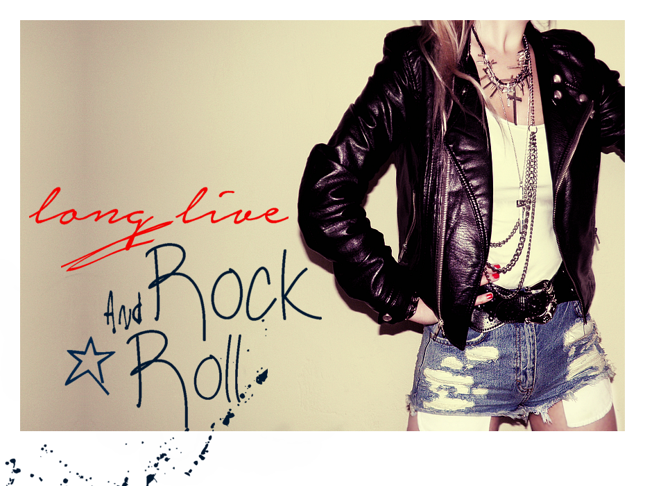 shorts, cross necklace, rock and roll style, outfit, 80s, glam rock, studs, missi rose