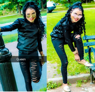 Bobrisky looks a lot more femine as he poses like michael jackson in new photos
