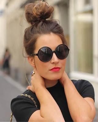 peinado con chonguito para mujer