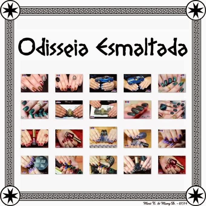 Odisseia Esmaltada, Holográfico, Magnético, Metálico, Liquid Sand