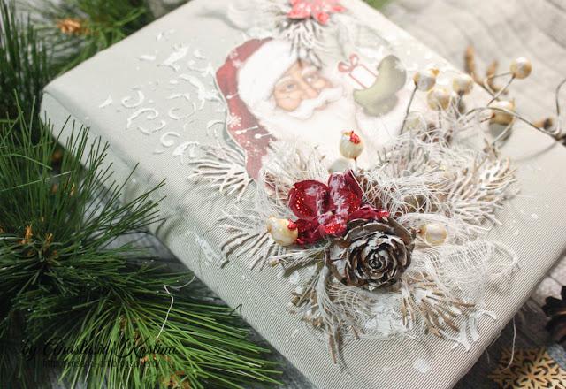 новогодний альбом, новогодний миник, зимний альбом, подарок на новый год, анастасия костина, kosana-art