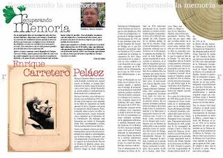 Artículo de Román Álvarez sobre Enrique Carretero