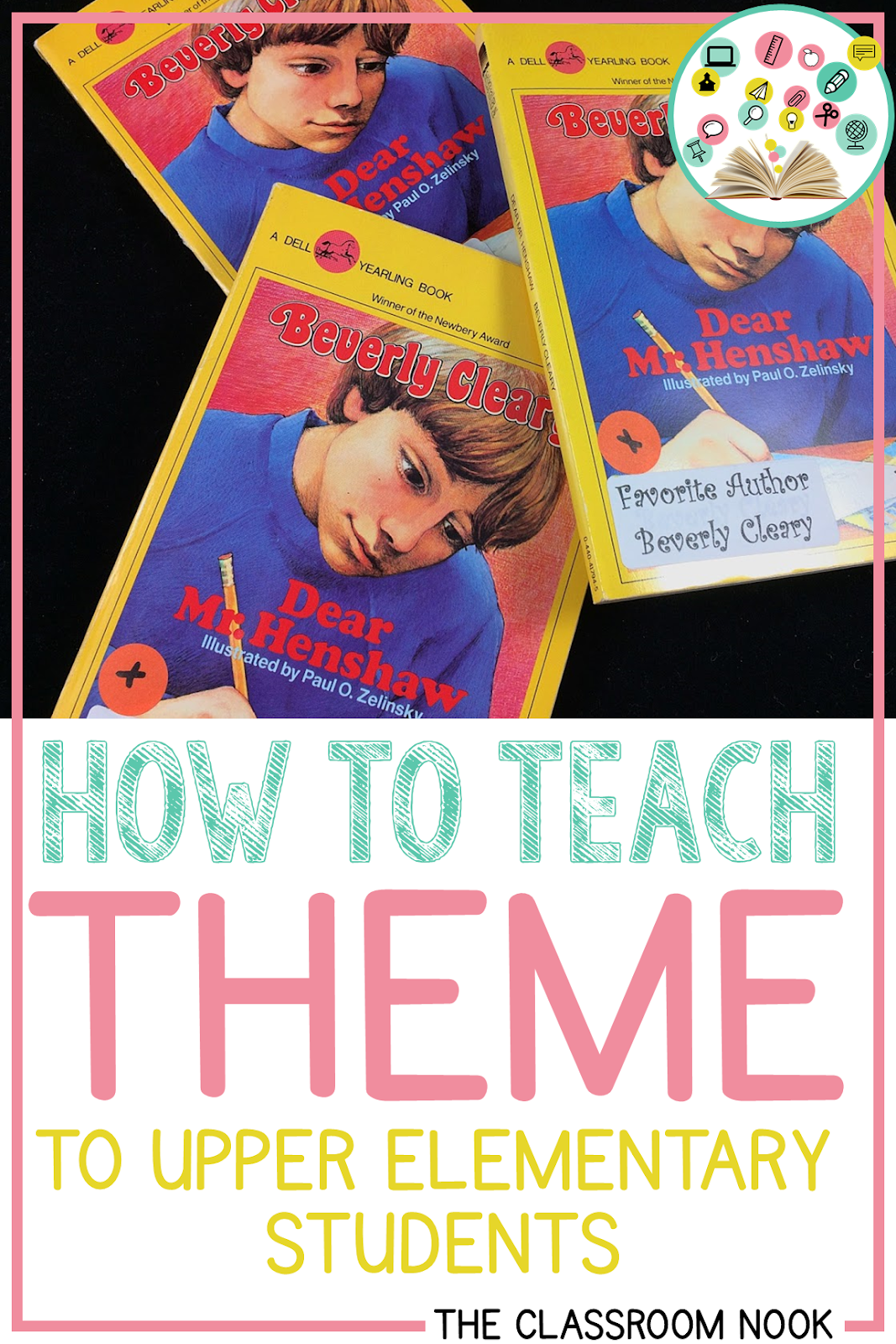 Teaching theme to your students but not sure if they are actually getting it?  Try teaching theme to your upper elementary students with this strategy!  Post includes FREE starter kit!  #teacher #teaching #readersworkshop #reading #thirdgrade #fourthgrade #fifthgrade