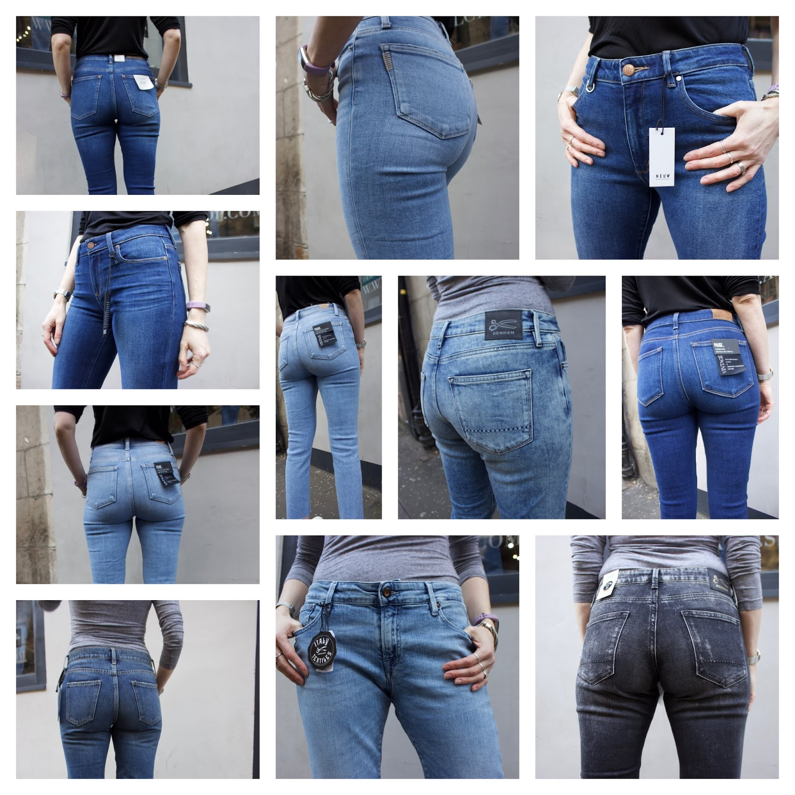 Shopping for new jeans! | ALC Edinburgh | Fake Fabulous