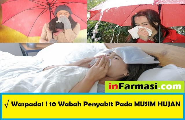 Penyakit pada musim hujan