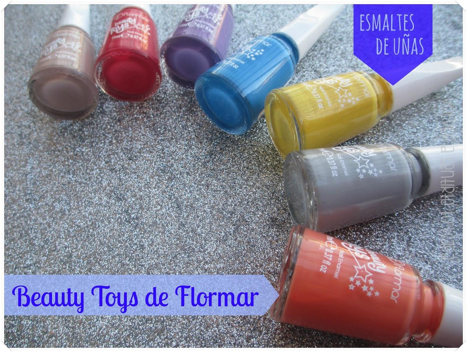Esmaltes Beauty Toys de Flormar