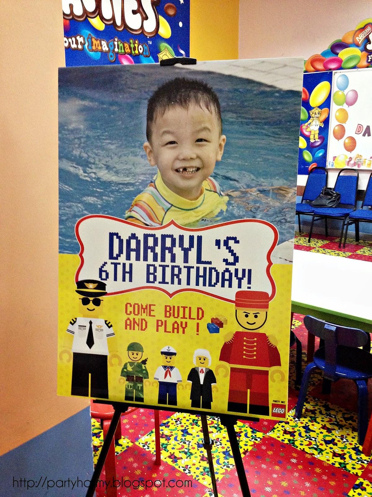 Lego Birthday Party For Darryl