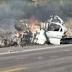 PM morre em colisão envolvendo gol e carreta na BR-423 em Delmiro Gouveia-AL