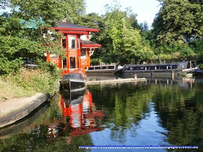 Casa china en el canal de Regent's