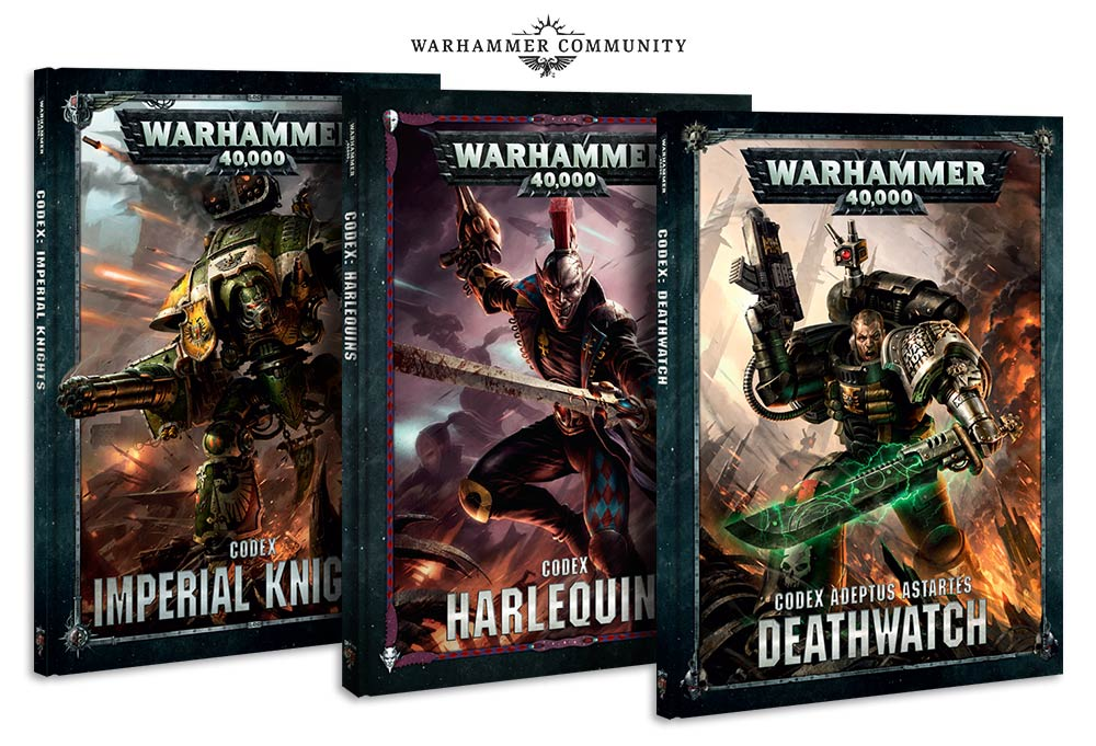 Month in the hobby march 2018 sdfnet 40k musings from the 41st also announced where the next 3 codices my initial reaction was that 3 smaller factions was an odd choice when there are larger factions still working from fandeluxe Image collections