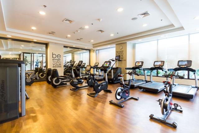 Fitness Center Gym at Ascott Makati