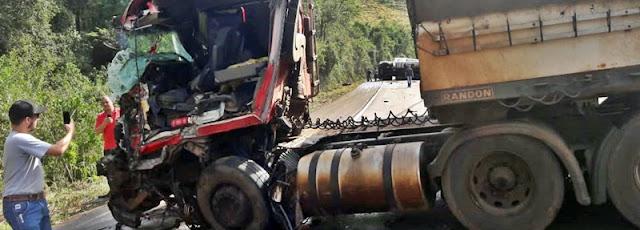 Acidente grave entre Iretama e Campo Mourão!
