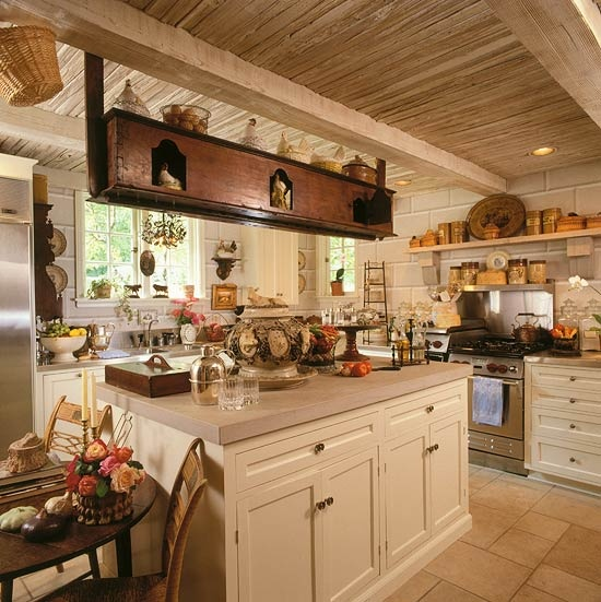 French Country Kitchen Cabinets: Vignette Design: Hometalk Styles: French Country