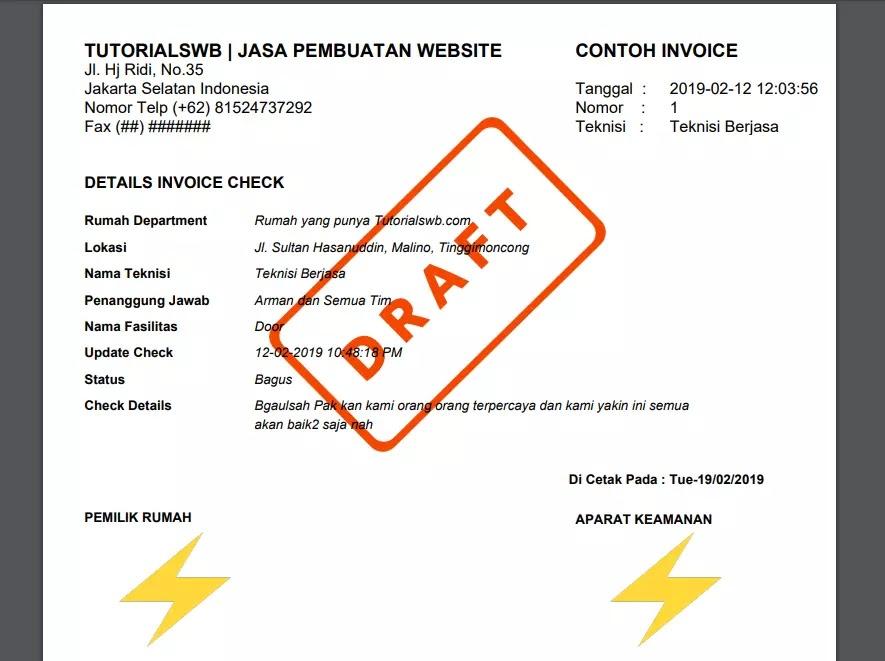 Fpdf html print
