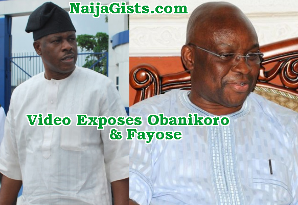 efcc video obanikoro fayose