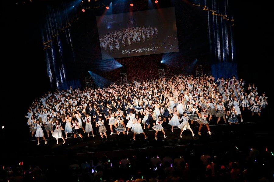 akb48 콘서트 현장