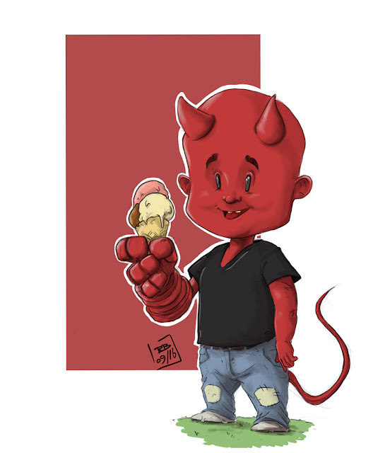 Young Hellboy