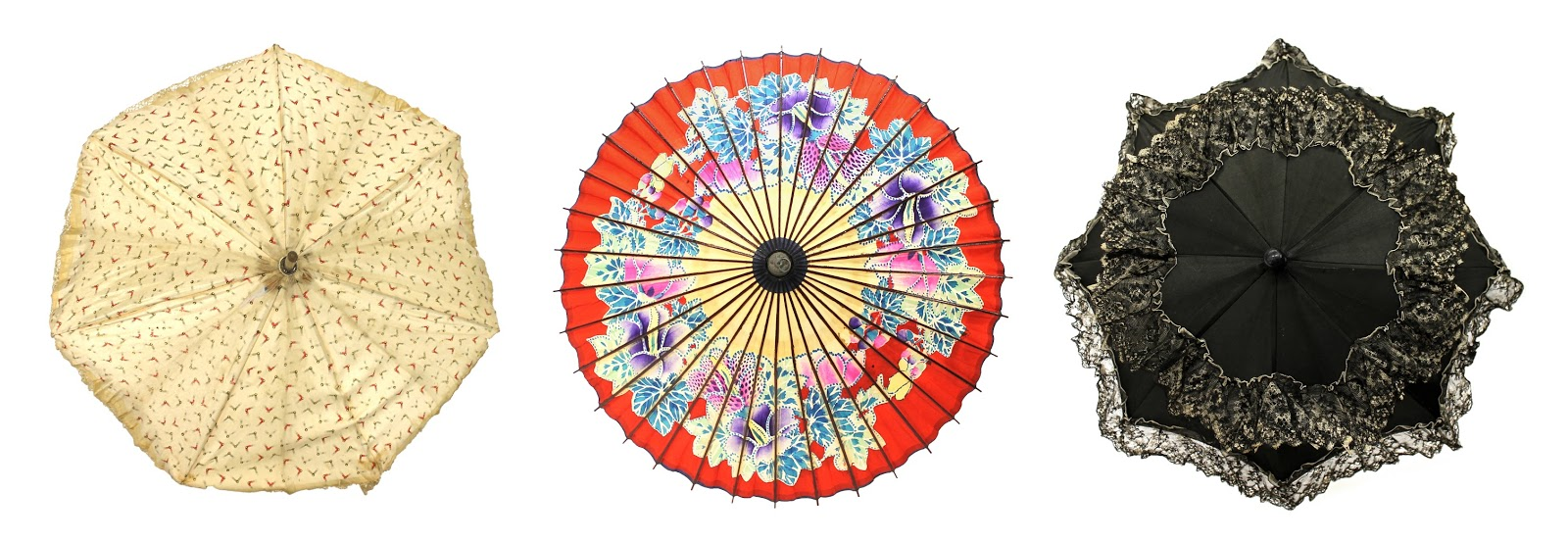 Fair Weather Friends: 19th Century Parasols