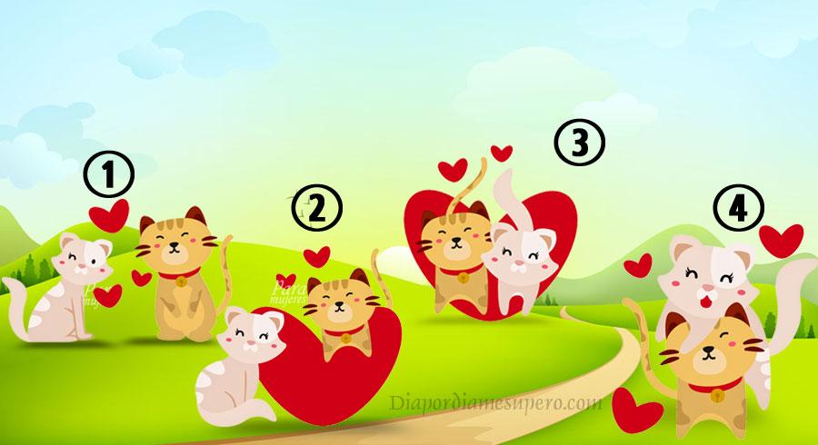Elige un gato amoroso y descubre qué tipo de cosas te deparan