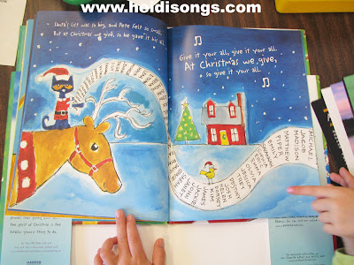 Pete the Cat Saves Christmas Freebies and Book Review! – Heidi Songs